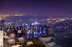 """be-there-emirates: """" Thailand: The highest rooftop bar in the world When in Bangkok, it would be remiss to pass up on the opportunity to grab a drink at the city's best rooftop bar. Sky Bar is. Sky Bar Bangkok, Hotels In Bangkok, Rooftop Bar Bangkok, Best Rooftop Bars, Bangkok Thailand, Thailand Travel, Bangkok Travel, Cozumel, Before I Die"""