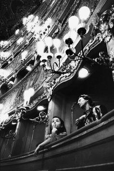 Gérard Uféras - Behind the scenes of music venues throughout Europe: Gran Teatro La Fenice, Venice, Italy 1992.  °