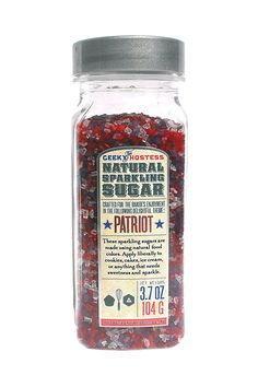 Natural Colored Patriot Sparkling Sugar ** Check out this great product.