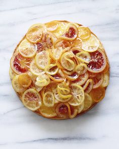 Candied Citrus Cake