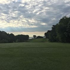 Good morning #farmneck #golfcourse this why I come #marthasvineyard and play #golf