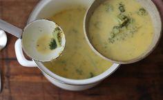 Heute gibt es Suppe und Salat | Sweet Home