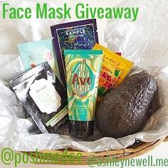 In honor of my 1 year anniversary my SIL has donated a fun giveaway with her all natural Perfectly Posh products.  The giveaway includes an Avocado Face Mask and some deluxe samples. (Basket and avocado not included.) To enter:  1. Follow @ashleynewell.me and @poshmedee  2. Leave a comment with your favorite way to eat avocado  3. Optional: tag a friend.  1 friend per comment tag as many as you like.  You get 1 entry per comment.  4. Optional: for 5 extra entries repost this picture and tag…
