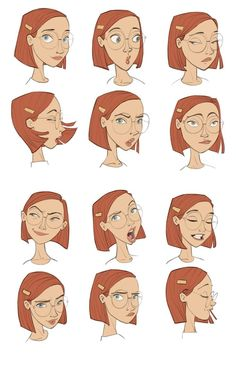 New Disney Art Drawings Sketches Character Design Facial Expressions Ideas Character Design Cartoon, Character Design References, Character Drawing, Character Design Inspiration, Comic Character, Anatomy Illustration, Illustration Vector, Character Illustration, Emotions Drawing