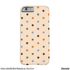 Cute colorful Dot Pattern