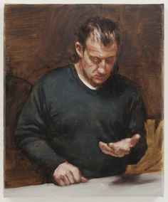 I LOVE these paintings, like this from Michael Borremans