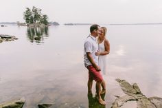 Cottage Engagement Session - Ontario Wedding Photographer / Niche Photography