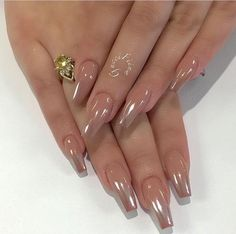 A manicure is a cosmetic elegance therapy for the finger nails and hands. A manicure could deal with just the Fabulous Nails, Perfect Nails, Gorgeous Nails, Pretty Nails, Best Acrylic Nails, Acrylic Nail Designs, Nail Art Designs, Chrome Nails Designs, Crome Nails