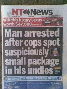 The law is the law. Am I right ladies?   20 News Stories That Rocked The World