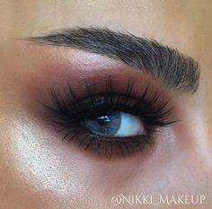 Glow #eyemakeup #redtones
