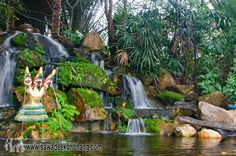 Photo in Koh Chang Paradise Resort & Spa - Google Photos Koh Chang, Tropical Landscaping, Resort Spa, Water Features, Pond, Paradise, Photo And Video, Landscape, Beach