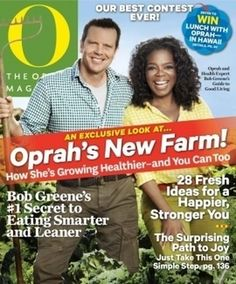 The June issue of The Oprah Magazine includes an article with details on Oprah Winfreys new farm in Hawaii.