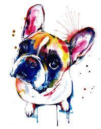 Resultado de imagem para bulldog francês  óculos desenho