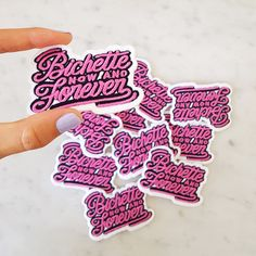 Embroidered Patch Bichette Forever  DIY with these patches ! Customise your shirts, shirts, jackets, jeans, bags with this iron-on patch. Bichette is an affectionate nickname that we are given between girl gang.  PRODUCT INFORMATION :  • Material : embroidery thread, felt, adhesive • Dimensions : 7 x 5.5 cm • The patch Bichette Forever is shipped on a card in a clear plastic sleeve, in a bubble envelope and with a tracking number.  Copyright © 2016 Lolita Picco. All rights reserved.