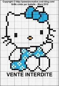 Hello Kitty - Bleu