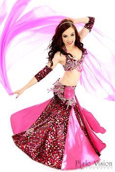 Gabby in DC https://www.facebook.com/AtaraxiaDance #bellydance #dancer #performer #pink #veil #dance #smile #laughter #skirt #woman #power #fun #flirty #bellydancephotography #pixievision #photography