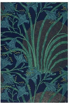 The Day Lily  Wallpaper  England, Great Britain (made)  1897-98 (made)  Crane, Walter (R.W.S.), born 1845 - died 1915 (designer)