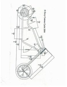 mini chopper frame plans source the ultimate - Farklı Motor Çeşitleri Mini Chopper Motorcycle, Chopper Bike, Motorcycle Design, Bicycle Design, Motorcycle Bike, Chopper Parts, Chopper Frames, Lowrider Bicycle, Side Car