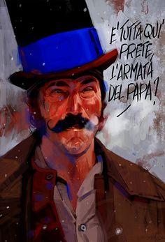 Movie illustrations by Massimo Carnevale | Inspiration Grid | Design Inspiration