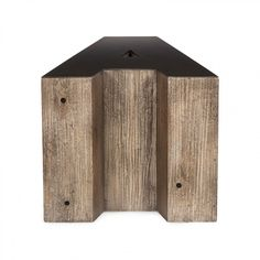 Andrew Martin Wooden Alphabet Side Tables - Set of 2 #uberinteriors
