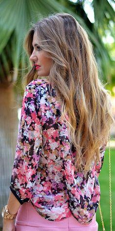 Floral & Pink
