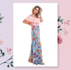 937cf1698 ALERTA AMOR A PRIMEIRA VISTA! É impossÍvel não se apaixonar por esse look  primavera.