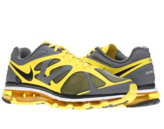 nike air max 2012 mens black and yellow