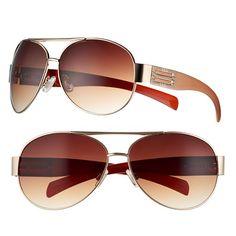 Women's Apt. 9® Aviator Sunglasses
