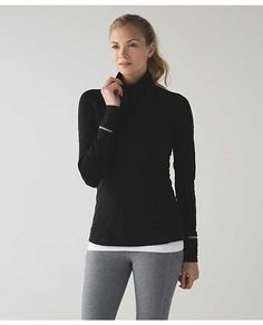 Face The Frost 1/2 Zip Black