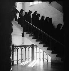Benedictine Monks, 1955 - Archive - The Gordon Parks Foundation
