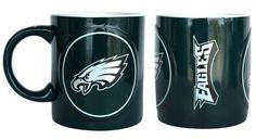Philadelphia Eagles Coffee Mug - 14oz Sculpted Warm Up
