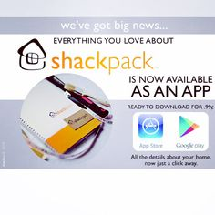 Shackpack now an app! Credit Card Statement, App Store Google Play, Filing System, Old Things, How To Plan, Future, Future Tense, File System