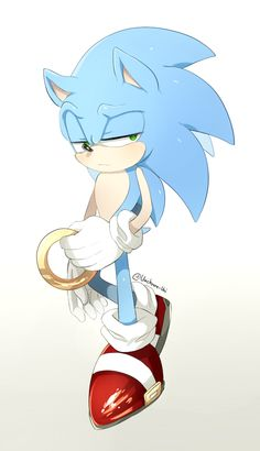 Sonic the Hedgehog (Is it just me, or does he look REALLY tired?)