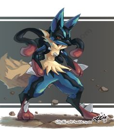 Fur Affinity is the internet's largest online gallery for furry, anthro, dragon, brony art work and more! Mega Lucario, Lucario Pokemon, Ash Pokemon, Pokemon Fan Art, Charizard, Epic Pictures, Lugia, Pokemon Images, Box Art