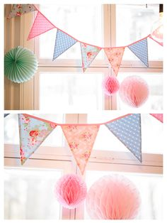 party decoration from Absolutely white