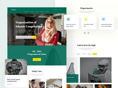 EVENT NEWS - Landing page Design designed by sadbin walid. Landing Page Design, Web Design, News, Design Web, Website Designs, Site Design