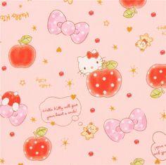http://www.kawaiifabric.com/en/p11902-peach-Hello-Kitty-apple-bow-dot-oxford-fabric.html