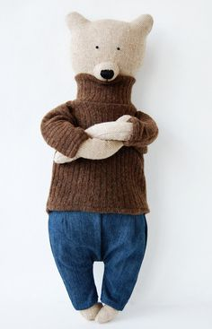 Bob the bear by Philomena Kloss on Etsy