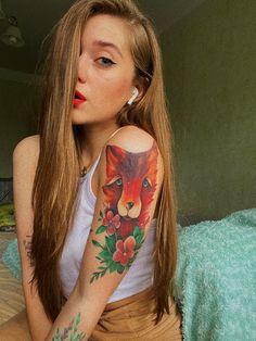 Simplw photo worh cute tattoo😞 #tattoo #fox #lady #selfie #photo #blondie #vsco #instagram #pinterest #filter Cute Tattoos, Photo Ideas, Filter, Vsco, Fox, Selfie, Lady, Instagram, Shots Ideas