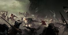 The battle at the gates of Erebor, March the 17th, the year 3019 of the Third Age post-3683-0-92311500-1445641400.jpg (1200×628)