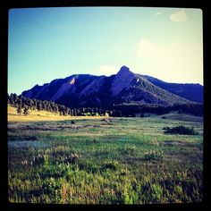 Nice shot of #Boulder #Colorado today!! (06.18.2012) Instagram