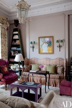 Looking for decorating ideas? Browse beautiful interiors on Architectural Digest for the perfect inspiration to help you design your dream home. Top Interior Designers, Best Interior Design, Interior Design Inspiration, Design Ideas, Colour Inspiration, Design Concepts, Architectural Digest, Style Cottage, Living Room Sofa