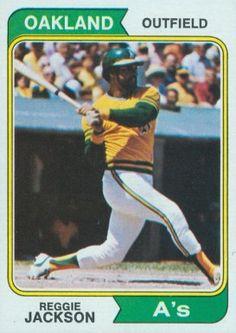 Reggie Jackson 1974