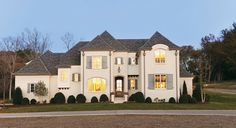 SW 6141 stucco color  2011 Southern Living Showcase Home - traditional - exterior - nashville - Castle Homes