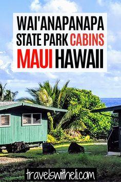Hawaii Vacation, Maui Hawaii, State Park Cabins, State Parks, Tips, National Parks, Ankara Dress, Counseling