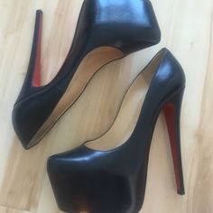 used christian louboutin 38