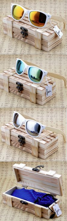62f60a600f5 Mens and Womens Bamboo Polarized Sunglasses. Handmade and Strong! Comes  With a Free Gift