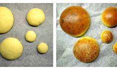 Domácí houska / bulka / brioška na burger – MENU od Koko