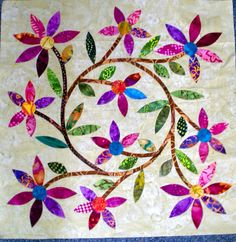 Linda's Quiltmania: Spring Bouquet, The Rest of the Blocks