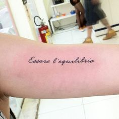 #mulpix Seja o equilibrio. #tattoo #tattoos #gui_tattoo #skinktattoo #tatuagem #tatuagens #escrita #script #tatuagemescrita #tatuagemfrase #scripttattoo #lettering #sp #paz